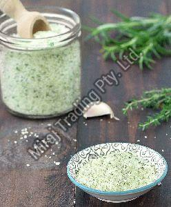 Organic Garlic and Thyme Infused Salt