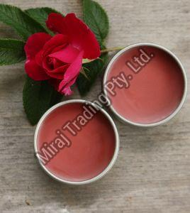 Organic Rose and Aloe Vera Lip Balm