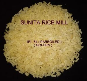 IR 64 Golden Parboiled Rice