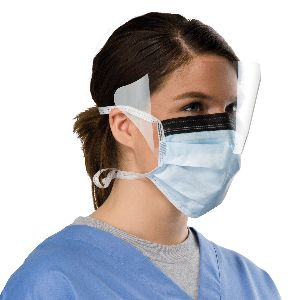Surgical Procedure Mask with Shield