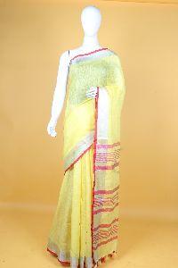 Pure Linen Sarees