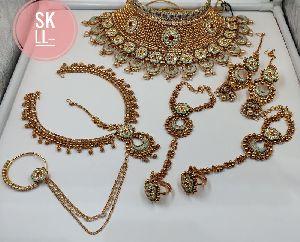 Meenakari Bridal Set