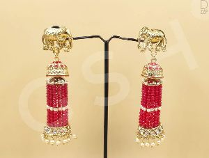 Moti Pearl Earrings