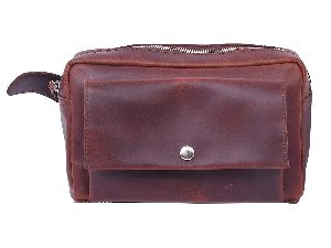 Leather Brown Waist Bag