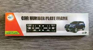 Car Number Plates Frame