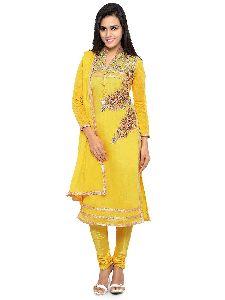 Chanderi Unstitched Suits