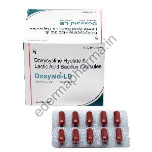 Doxycycline Hyclate & Lactoacid Bacillus Capsules