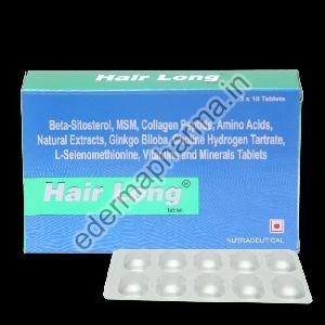 Hair Growth Tablet Hair Long