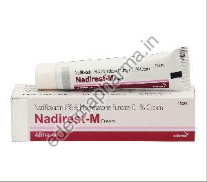 Nadifloxacin 1% & Mometasone Furoate 0.1% Cream
