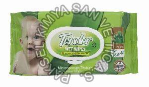 Tender Wet Baby Wipes