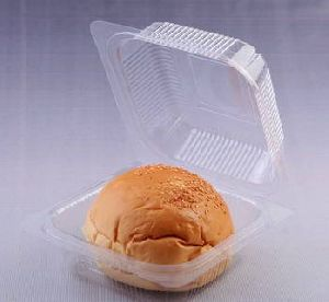 Plastic Burger Packaging Box