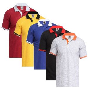 Mens Collar T Shirts