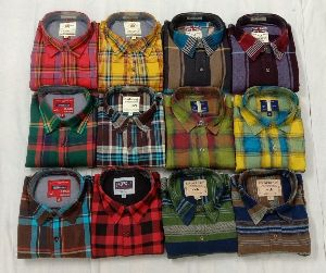 Branded Mens Check Shirts