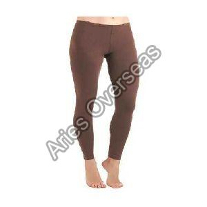 Plain Brown Leggings