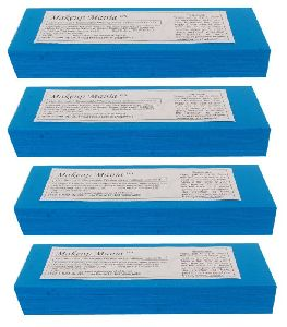Blue Plain Waxing Strips