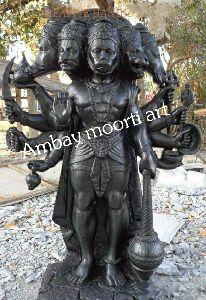 Marble Panchmukhi Hanuman Ji Statue