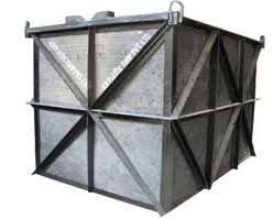 Mild Steel Rectangular Water Tank