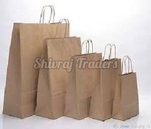Brown Kraft Laminated Paper Bags