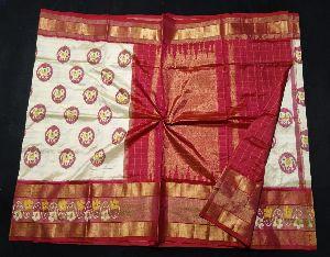 Ikat Silk Sarees