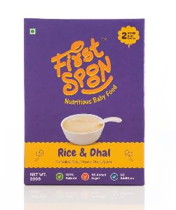 First Spoon Rice & Dhal