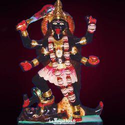 Marble Bhairavi Mata Statue