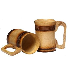 Bamboo Coffee Mugs