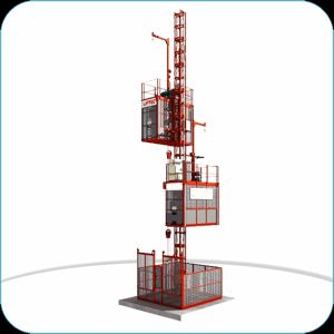 Low Speed Construction Elevator Hoist