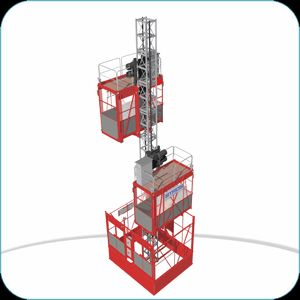 Medium Speed Construction Elevator Hoist