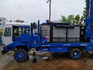200m Deep Truck Mounted portable water well drilling rig for sale