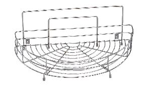 SRDT0025 Stainless Steel Corner Rack