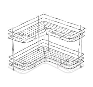 SRDT021 Stainless Steel Corner Rack