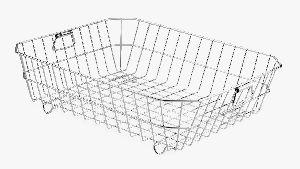 SRDT029 Stainless Steel Fruit Basket