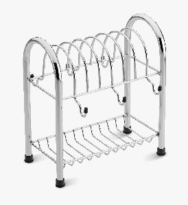 SRDT030 Stainless Steel  Cup & Saucer Stand