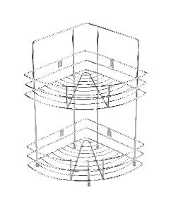 SRTD018 Stainless Steel Corner Rack