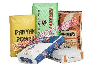 Block Bottom Cement Bags