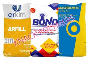 Multicolor Cement Bags