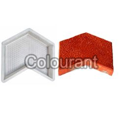 Arrow Shaped Silicone Plastic Interlocking Paver Moulds