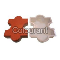 Brooks Shaped Silicone Plastic Interlocking Paver Moulds