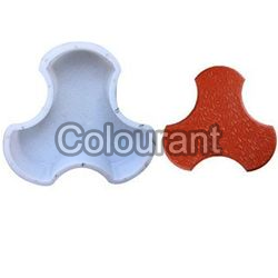 Colorado Shaped Silicone Plastic Interlocking Paver Moulds