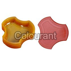 CP - 14 Big Colorado Rubberised PVC Interlocking Paver Moulds
