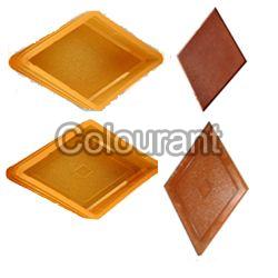 CP - 28 Diamond Rubberised PVC Interlocking Paver Moulds