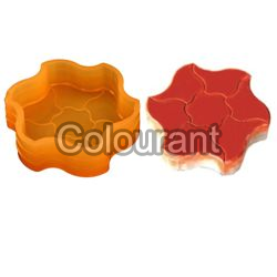 CP - 41 Chakra Rubberised PVC Interlocking Paver Moulds