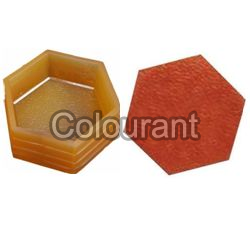 CP-45 Hexa Rubberised PVC Interlocking Paver Moulds