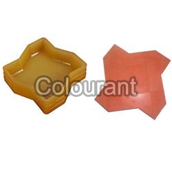 CP - 50 Star Rubberised PVC Interlocking Paver Moulds