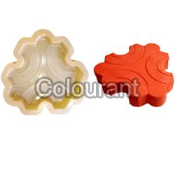 CP - 58 Galaxy Rubberised PVC Interlocking Paver Moulds