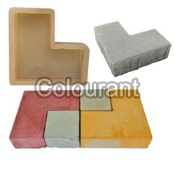 CP-60 L Shape Rubberised PVC Interlocking Paver Moulds