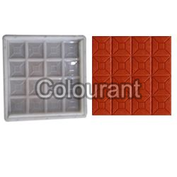 CPT - 13 Silicone Plastic Floor Tiles Moulds