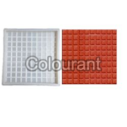 CPT - 15 Silicone Plastic Floor Tiles Moulds