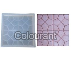 CPT - 16 Silicone Plastic Floor Tiles Moulds