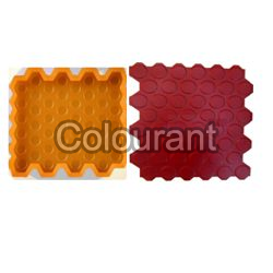 CT-74 Rubberised PVC Floor Tiles Moulds